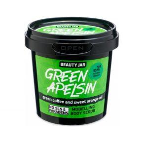 Beauty Jar Green Apelsin Scrub